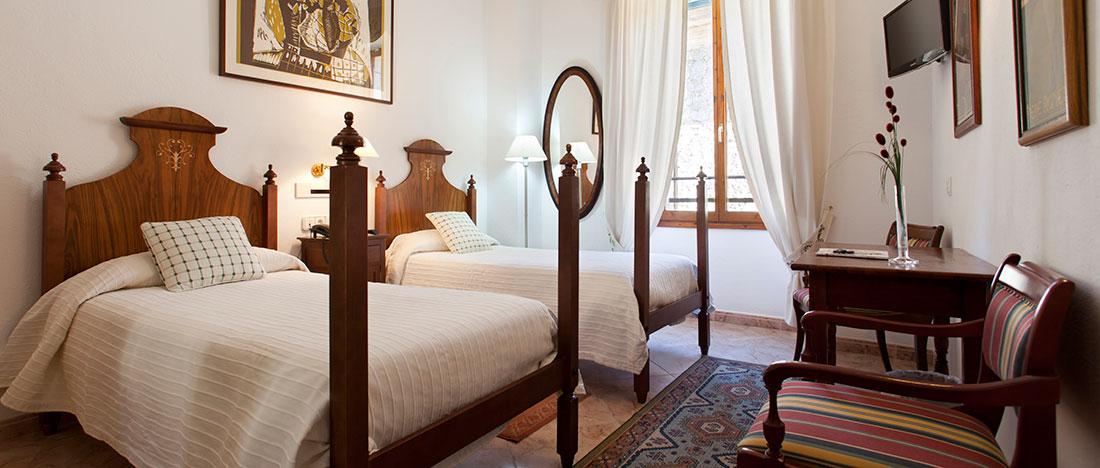 Habitacions de l'Hotel Juma