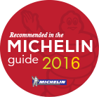 Recommended in the MICHELIN guide 2016